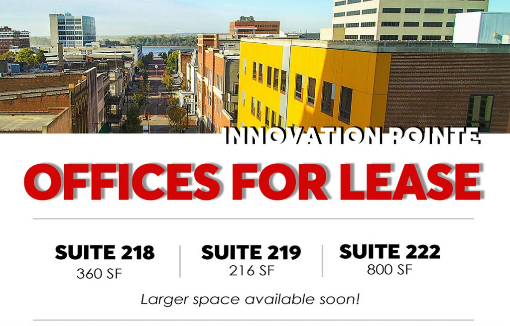 Downtown Evansville office space for rent