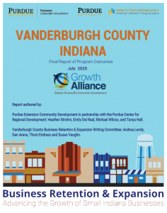 Vanderburgh County Business Retention & Expansion Program - 2019 Annual Report